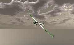 "more soaring in the ask 13 (Jenny ""Oxymoron"" D) Tags: glider gliding ask fiji airport aviation firestorm second life slaviation"