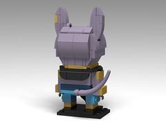 Beerus, Dragon Ball Super BrickHeadz (headzsets) Tags: lego legobrickheadz brickheadz legomoc legomocs moc afol legophotography dragonball dragonballz dragonballsuper dragonballgt saiyan