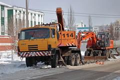 Tatra 815  Е 777 КК 45 (RUS) (zauralec) Tags: город курган улица автомобиль грузовик kurgancity streetradionova tatra 815 е 777 кк 45 rus