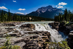 Athabasca Falls (Yuliksroas) Tags: jasper national park alberta athabasca falls waterfalls waterfall canada 150 rockies rocky mountains canadian canon eos 650d icefield parkway