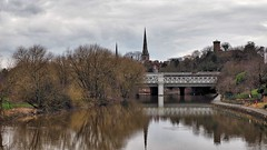Shrewsbury's Spires (Bob.W) Tags: shrewsbury riversevern stmarys stalkmunds laurastower reflections coth5