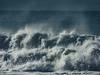 Breaker (Steve Taylor (Photography)) Tags: breaker waves surf spray blue monocolor monocolour newzealand nz southisland canterbury christchurch newbrighton ocean pacific sea wet