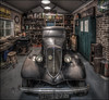 The Old Ford (Darwinsgift) Tags: ford car garage british motor museum hdr photomatix nikon d850 pc e nikkor 19mm f4 vintage antique merge stich shift lens