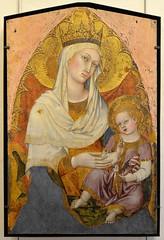 """Avignon (Vaucluse) - Musée du Petit Palais - """"La Vierge et l'Enfant"""" (Taddeao di Bartolo, Sienne, vers 1362-1422) (Morio60) Tags: avignon vaucluse 84 provence unesco musée petitpalais"""