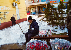 Flower's day (Debeli Leptir) Tags: bor srbija serbia street people candid