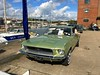 1968 Ford Mustang 4.7Litre V8 with rare front Bench Seat (mangopulp2008) Tags: 1968 ford mustang 47litre v8 with rare front bench seat seen isle wright classic car extravaganza