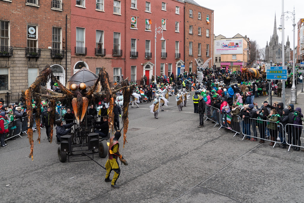 INSECTOPIA BY SPAORI [DUBLIN PARADE 17 MARCH 2018]-137719
