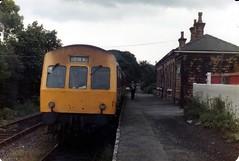 Clayton West DMU (dhtulyar) Tags: clayton west huddersfield 51430 51479 dmu railcar 101