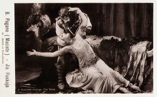 Bartolomeo Pagano and Jia Ruskaja in Giuditta e Oloferne (1929)