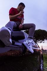 HOPE (Nico Selis) Tags: hype streetwear street light sunset rome photography dar dark day night supreme air force one nike vetements smoke boy portrait guy
