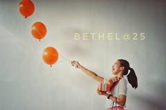 Celebrating life (fourohfourtyfour) Tags: birthday girl happy orange balloons cake