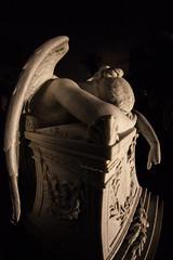 On the Day After Tomorrow (Thomas Hawk) Tags: america bayarea california colma cypresslawn cypresslawncemetery cypresslawnmemorialpark southbay usa unitedstates unitedstatesofamerica westcoast angel cemetery night sculpture fav10 fav25 fav50