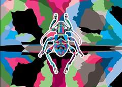besouros juntos-07 (Allan Rodrigo) Tags: besouro besouros beetle psicodelia animação artevetorial artedigital vetor vector illustration color mushroom lsd
