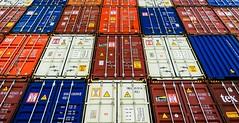 Container Colours (Hans Veuger) Tags: nederland thenetherlands zaanstreek zaandam zaanstad noordholland achtersluispolder sluispolderweg containers containerwall nikon b700 coolpix nederlandvandaag unlimitedphotos