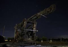 Stella Machina (jdnelms62) Tags: abandonedcars trucks ruraltexas nightphotography paintingwithlight