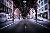 Too many things on my mind (Jim Nix / Nomadic Pursuits) Tags: chicago illinois jimnix lensbaby lightroom luminar2018 macphun midwest nomadicpursuits skylum sony sonya7ii trio28 windycity cityscape elevatedtrain gritty holiday streetscene train traintracks travel vacation