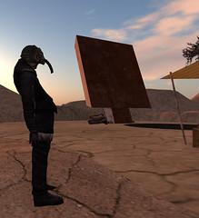 Wasteland Days20-Dexter (grady.echegaray) Tags: wastelands desert ruins ruined slfashion slstyle secondlife postapocalyptic postapocalypticfashion avatar avatarfashion avatarstyle