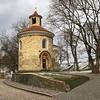 A Rotunda de São Martinho é a construção mais antiga preservada de Praga, construída no século 11. ⚜️ (jpcamolez) Tags: a rotunda de são martinho é construção mais antiga preservada praga construída no século 11 ⚜️