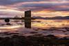 Stalking Sunset (Neil W2011) Tags: nikon d7200 landscapephotography landscape scotland highlands castle castlestalker sunset dusk vibrant colour light refelections shore