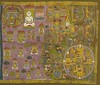 The tradition of Tirth Patas(Pilgrimage cloth hangings) in Jainism is something which hasn't been studied in detail, but one is in awe looking at such masterpieces where the artist uses a complex visual vocabulary in depicting the sites & the arrangement (Jain News Views) Tags: jainism