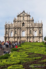 Macao (Rolandito.) Tags: asia china macao st paul pauls ruin ruins