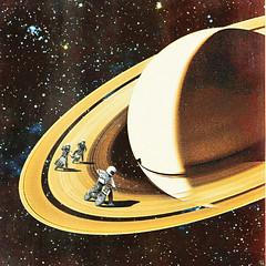 sr (woodcum) Tags: space cosmic cosmos surreal bike motorcycle motorbike race rings saturn planet stars deepspace collage retro vintage color grain