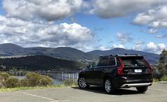 Volvo XC90 D5 (AUS477) Tags: volvo xc90 tasmania volvophotolocations d5 car vehicle carpark tasmanbridge bridge view landscape hobart