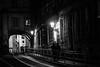 Nightly street, Prague (jussitoivanen) Tags: blackwhite blackwhitephotos blackandwhite blacknwhite bw noiretblanc blancnoir blancetnoir monochrome monochromatic schwarzweiss streetview street streetphotography streetphoto streetphotographer urban urbanphotography urbanphoto night