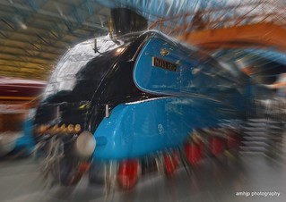 Mallard Locomotive