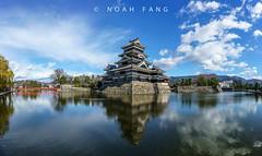 Matsumoto Castle 松本城 (Noah.Fang) Tags: panorama landscape sony a7r mark ii a7rm2 carlzeiss zeiss 35mm f28 japan matsumoto castle