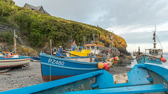 Cadgwith working boats….. (AJFpicturestore) Tags: cadgwith cornwall fishing workingboats thelizard boats cove alanfoster