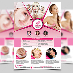 Beauty Flyer design (shagorhasan) Tags: balyaj barber beautysalon care deluxe feet fitness flyer footcare hair haircoloring hairsalon haircut hands health manicure massagesalon massagetherapy mindandbody nails pedicure salon scissors skincare spa spaflyers sports