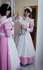 Pink Housemaid (blackietv) Tags: maid dress gown pink white pvc petticoat apron tgirl transvestite crossdresser crossdressing transgender