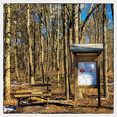 Eileen Winsor Memorial Trail (Timothy Valentine) Tags: 0318 large bench hiking 2018 sign baycircuittrail monday eastbridgewater massachusetts unitedstates us
