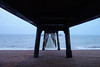 Peering under (marktmcn) Tags: deal pier east kent coast undercroft pilings toward infinity vanishing point perspective shingle beach sea seaside waves channel dsc rx100 under underneath underside
