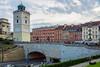 observation tower - Warsaw, Poland (Russell Scott Images) Tags: warsaw poland observationtower taraswidokowy buildings krakowskieprzedmieście