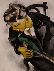 Marc Chagall, David with a Mandolin, 1914 9/9/17 #lacma #theater