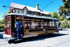 Le tram historique de Christchurch