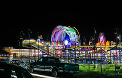 wacky worm (pbo31) Tags: oakland california eastbay alamedacounty nikon d810 color night black dark ride fair lightstream motion carnival traveling spinning midway boury pbo31 march 2018 butleramuesments