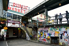 Pike Place 26 (Krasivaya Liza) Tags: pike place market pikeplace pikeplacemarket flowers fish veggies stalls vendors fruit seattle wa washington state pac northwest pacific puget sound waterfront city urban cityscape street streets art snow snowy winter feb 2018