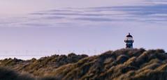 72/365 (2) - Through the dunes.. (EYeardley) Tags: talacre wales lighthouse pointofayrlighthouse sunshine sanddunes grasses nature landscapephotography landscape windturbines bluesky nikon nikond3300 sigma