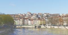 Lyon – Les quais de Saône (Le.Patou) Tags: lyon saône urban urbanisme city cité cities cityscape line ligne skyline quai quay river fleuve coloré colored sharpening