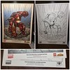 The HULKBUSTER: ULTRON EDITION prints (LegoDad42) Tags: the hulkbuster ultron edition prints lego art comic book ron lim wayne faucher chris sotomayer marvel comics