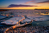 (Adam C Images) Tags: select fuji xt2 mirrorless xtransiii iii sensor crop weather sealed fujinon 1655 f28 r lm wr nisi filters polarizer 6 stop 10 little stopper big lake ontario snow squall shore seascape ice frozen winter kingston canada sky ocean sea water sunset beach landscape self portrait selfie