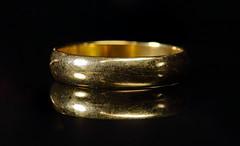 Wedding Ring (macromerriment) Tags: macromondays imperfections macro extensiontubes weddingring ring focusstack