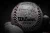 bola (mestremur) Tags: ball hand fingers baseball play costura rojo blanco negro black white beisbol juego pelota panama ferguson beisbolista bw