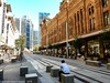 CBD & South East Light Rail - George Street - Update 12 March 2018 (6) (john cowper) Tags: cselr sydneylightrail georgestreet track tracklaying trackslab infrastructure acconia transportfornsw townhall qvb standrewscathedral sydney newsouthwales