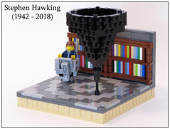 Intelligence is the ability to adapt to change (MSP!) Tags: stephen hawking lego