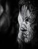 Flowing (Cirrusgazer) Tags: crete georgekoutantos greece blackandwhite face female flower grain head headland sculpture wood woodcarving