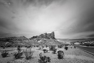 black and white fine art landscape long exposure photography